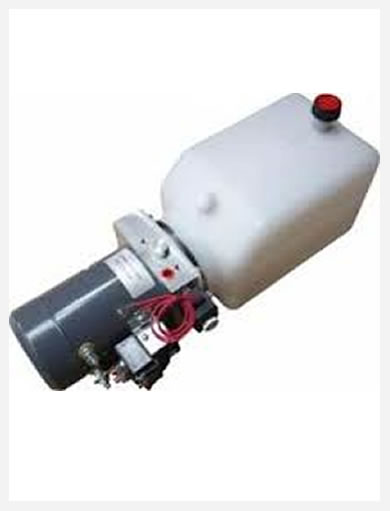 Mini AC or DC hydraulic power unit